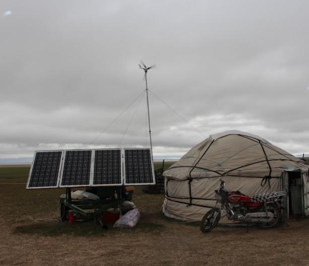 内蒙古养殖户移动发电设备交付