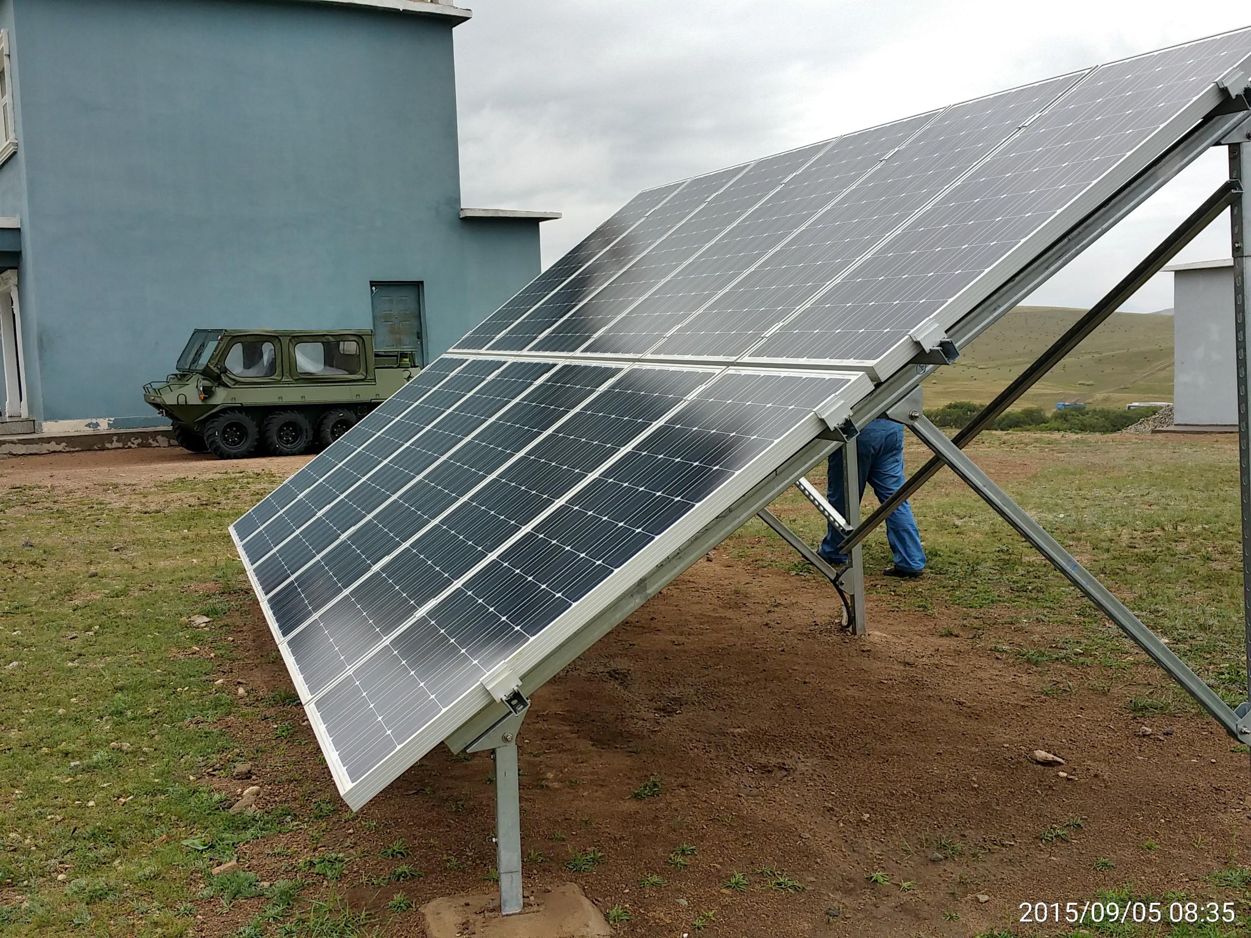 家用离网太阳能发电系统